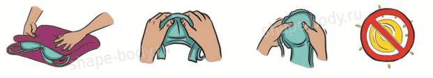 как правильно стирать корректирующее белье Lebondi